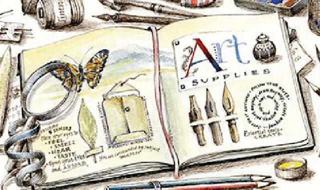 Sketchbook Illustration by Janet Takahashi