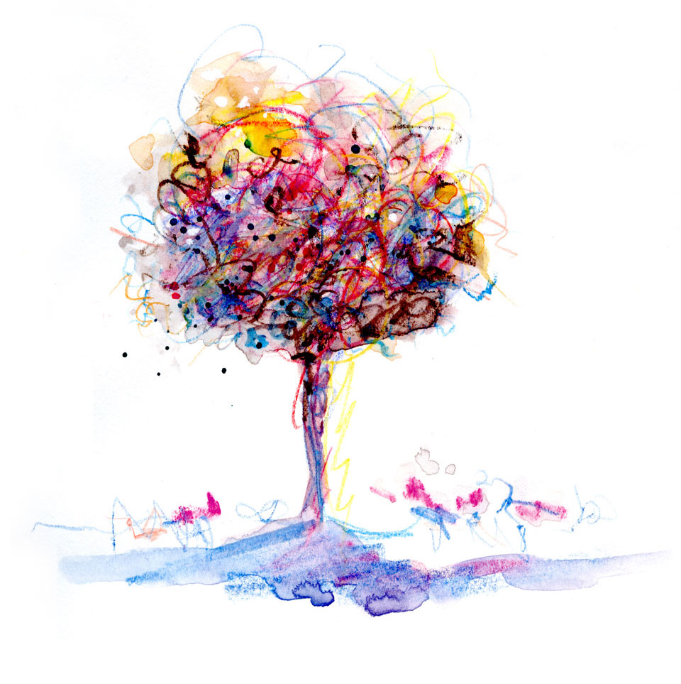 Muse color tree by Janet Takahashi