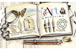 Journaling notebook by Janet Takahashi