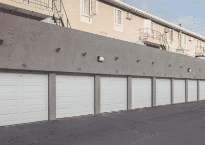 Parking Garages at apartment building