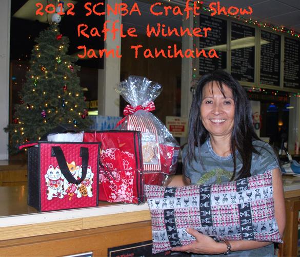 2012 Craft Show raffle winner