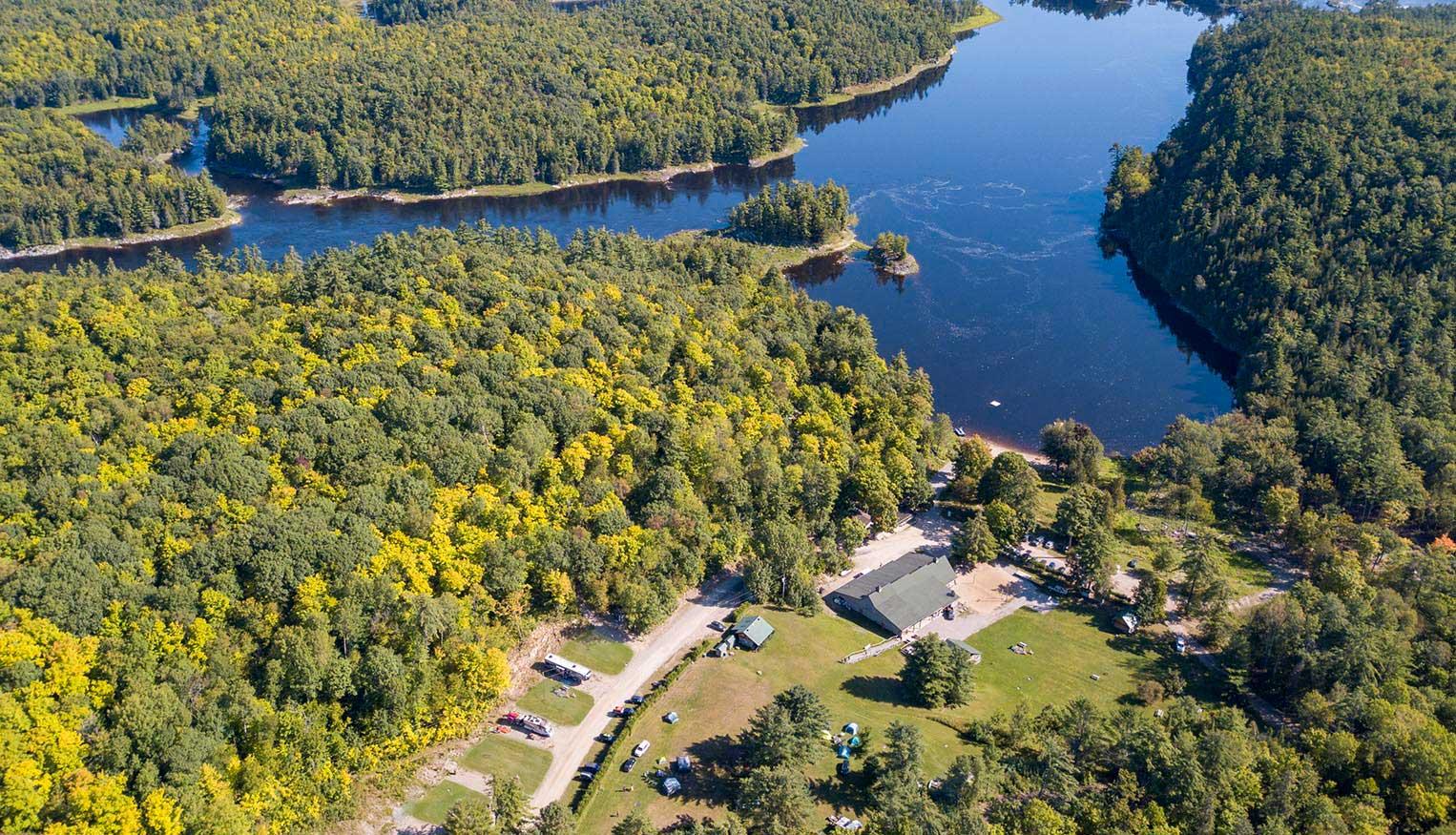 Park Village at Wilderness Tours Ottawa River
