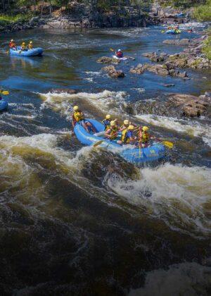 Wilderness Tours Covid-19 Coronavirus Policies Ontario Rafting Summer Family Adventure Activity Camping