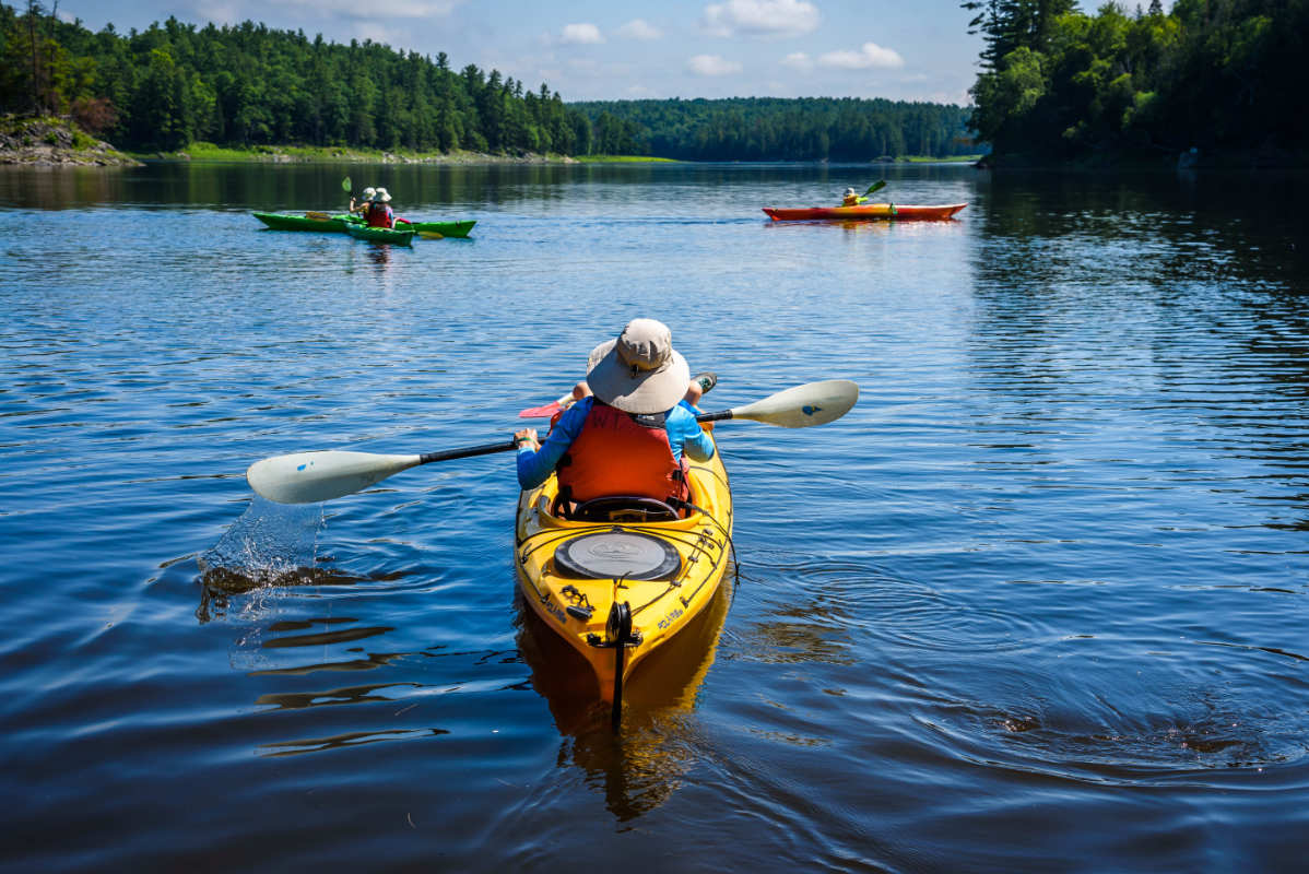 Sea Kayaking Wilderness Tours Ottawa Kayak School National Whitewater Park