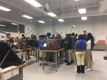 """More than 300 Students """"EXPO'sed to Manufacturing Industry"""