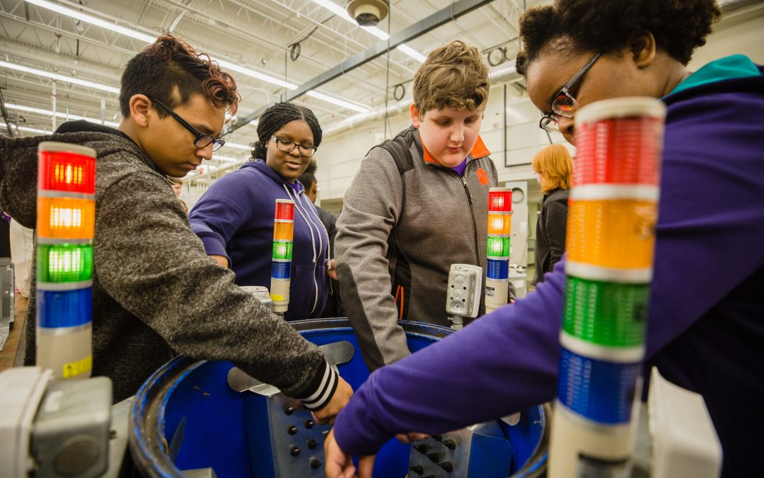 Interactive Sumter expo for middle-schoolers highlights manufacturing technology and potential jobs