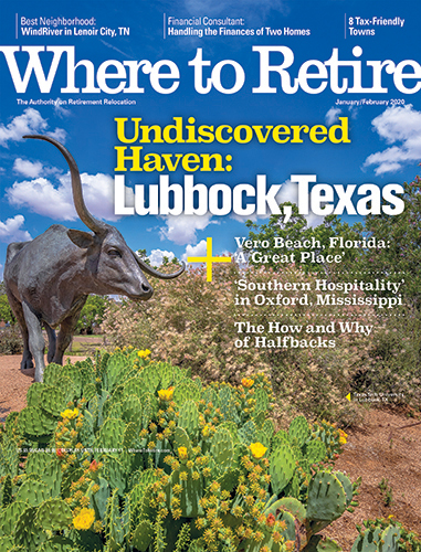 Sumter Featured in Where to Retire Magazine