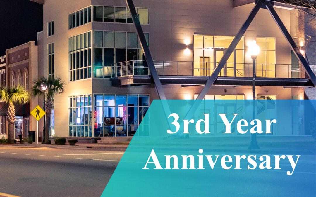 3rd Anniversary at the Economic Development Headquarters