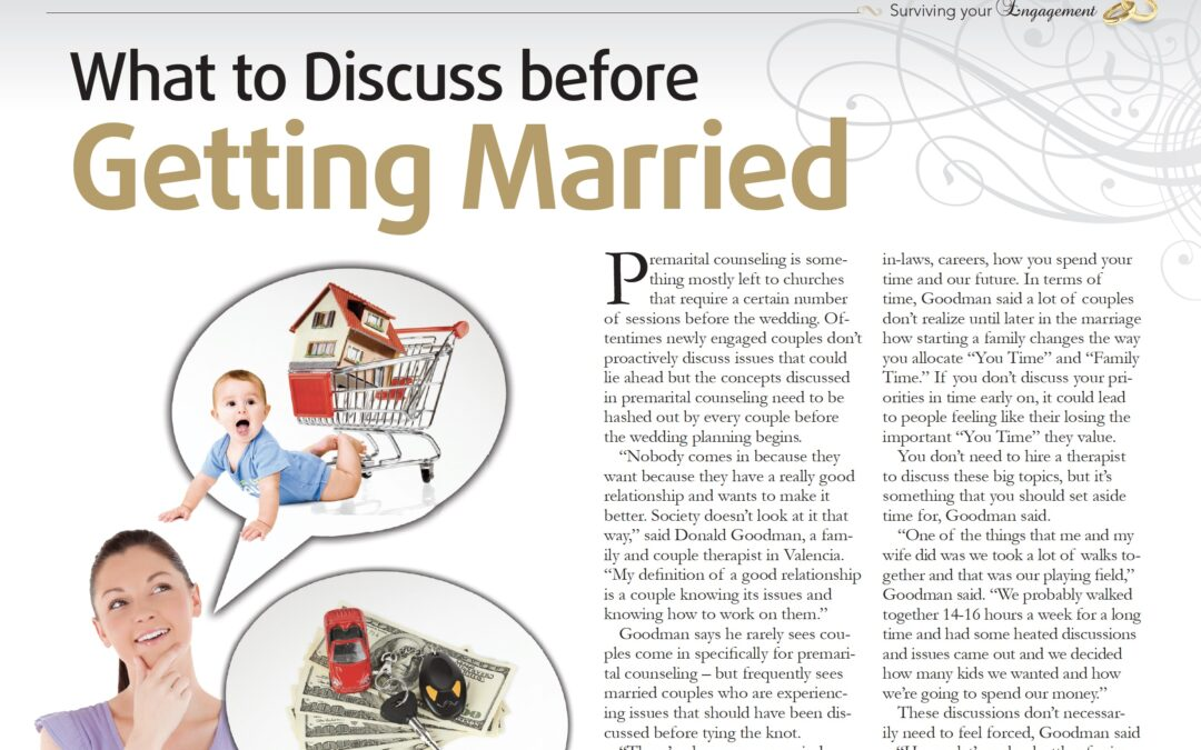 What to Discuss Before Getting Married