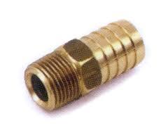 1 brass hose barb