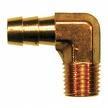 25 brass hose barb 90