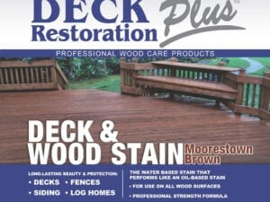Wood and Deck Care