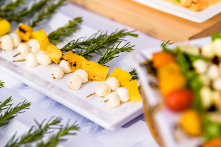 Sage Bleu Catering Corporate Lunch Retreat Appetizer