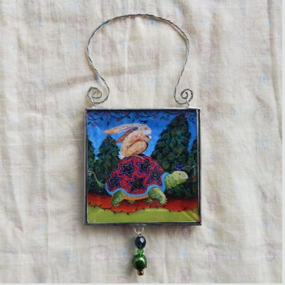 Danasimson.com double sided ornament journeys the thing image