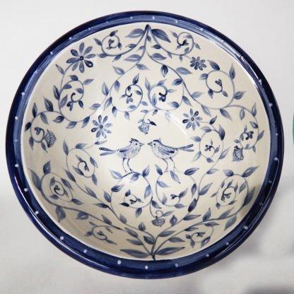 Danasimson.com custom wedding bowl Happy Nest