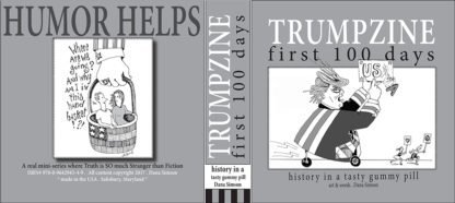 danasimson.com Trumpzine front and back cover