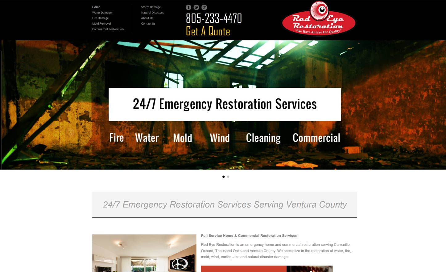 Web Design for Cleaning & Sanitation Companies - The Ventura Pixel