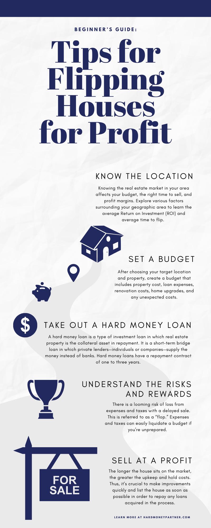 Beginner's Guide: 6 Tips for Flipping Houses for Profit