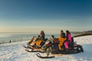Ski-doo Charlevoix Quebec