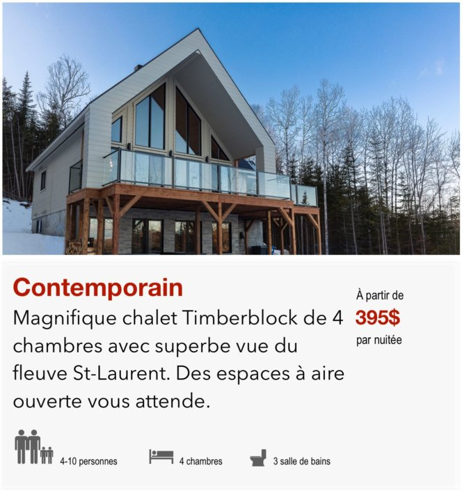 Link to Chalet Contemporain