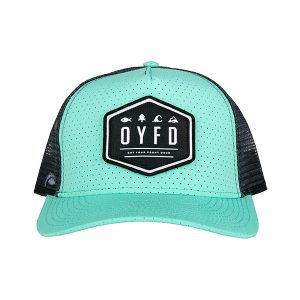 Teal Wing Hat