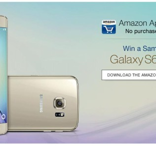 Amazon App Contest Win Samsung Galaxy S6 Edge