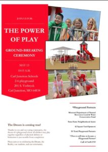 Power of Play Ground-Breaking Ceremony @ Carl Junction Schools 2-6 Playground | Carl Junction | Missouri | United States