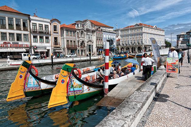 """Aveiro: """"the Venice of Portugal""""  Photo source: Leonardo Del Prete"""