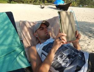 dan-on-beach-goa