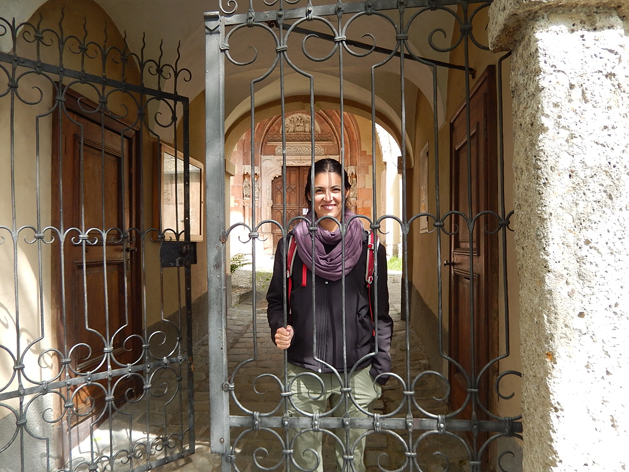 Behind the gates of Nonnburg Abbey