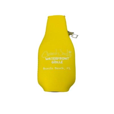 Coconut Jack's Beer Koozies yellow