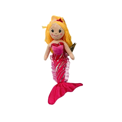 Sparkly Goddess Mermaid doll in the pink color