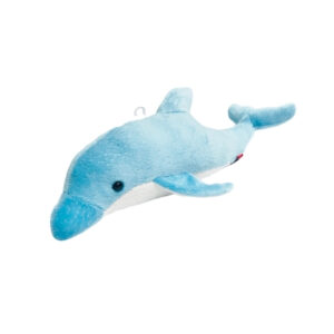 sparkly blue dolphin stuffed animal toy