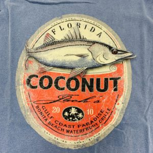 Coconut jacks snook fish shirt