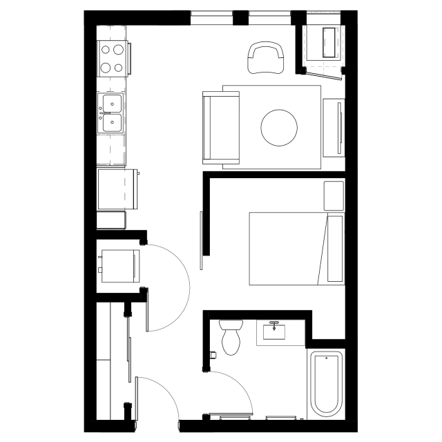 The Fenley Floor Plan A1