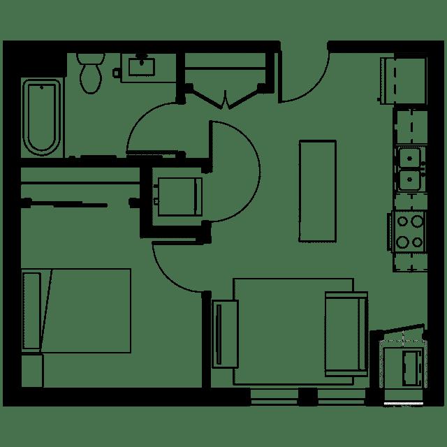 The Fenley Floor Plan A2
