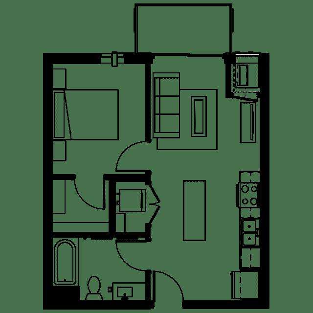 The Fenley Floor Plan B1