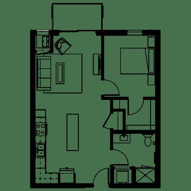 The Fenley Floor Plan B3