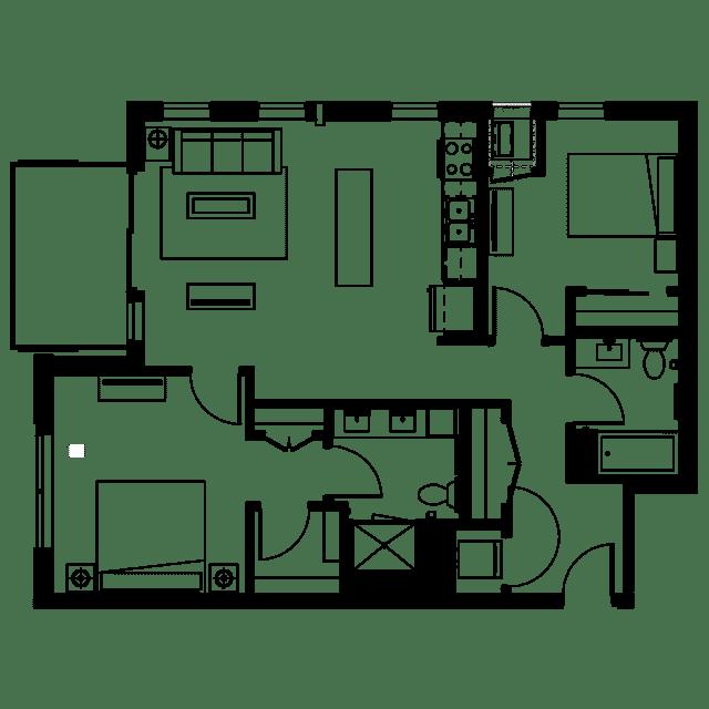 The Fenley Floor Plan C6