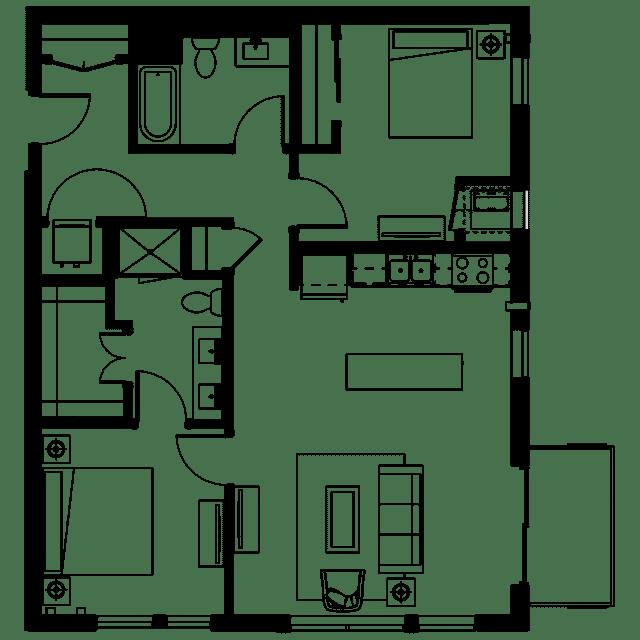 The Fenley Floor Plan C9