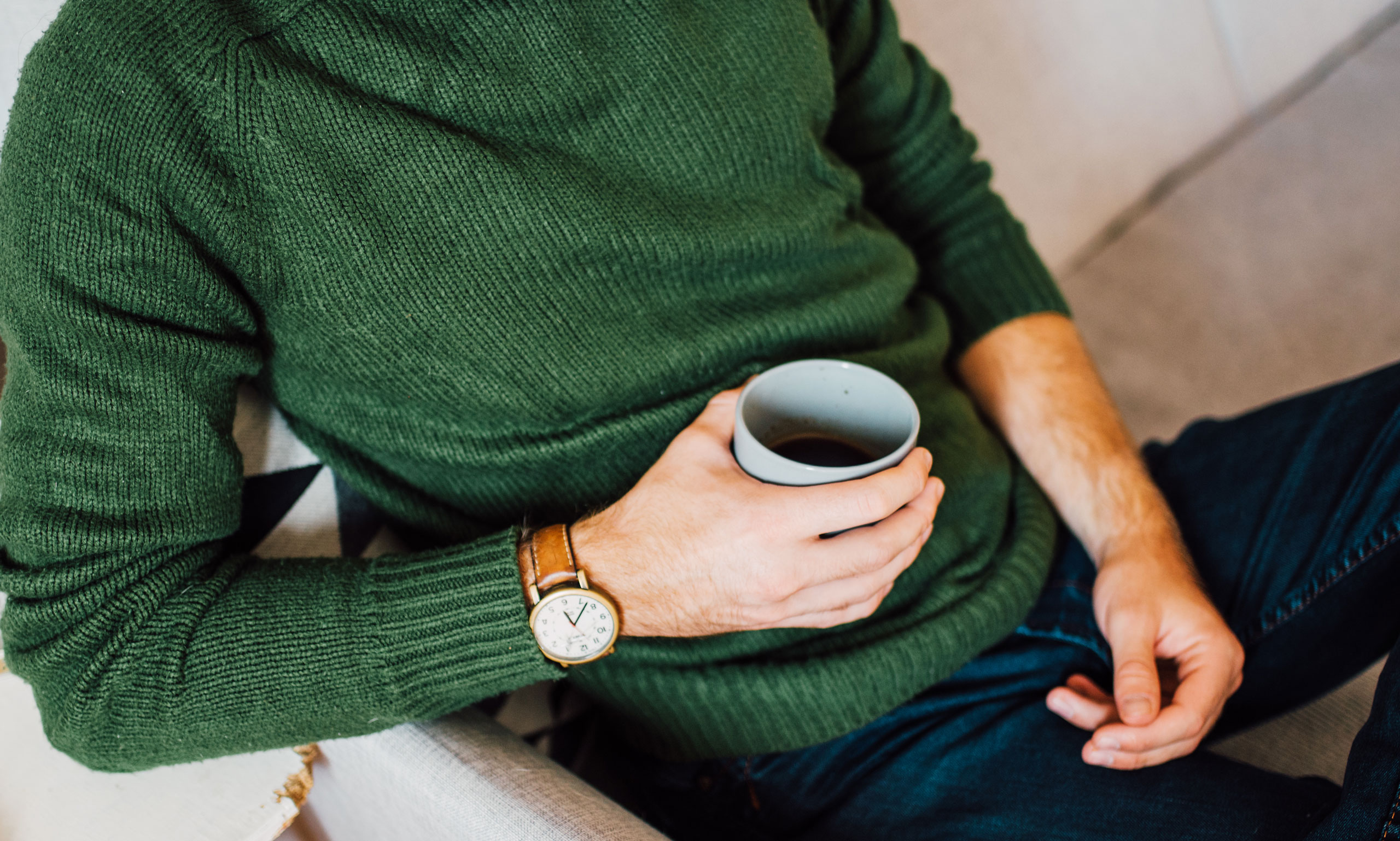 Lifestyle Man Green Sweater