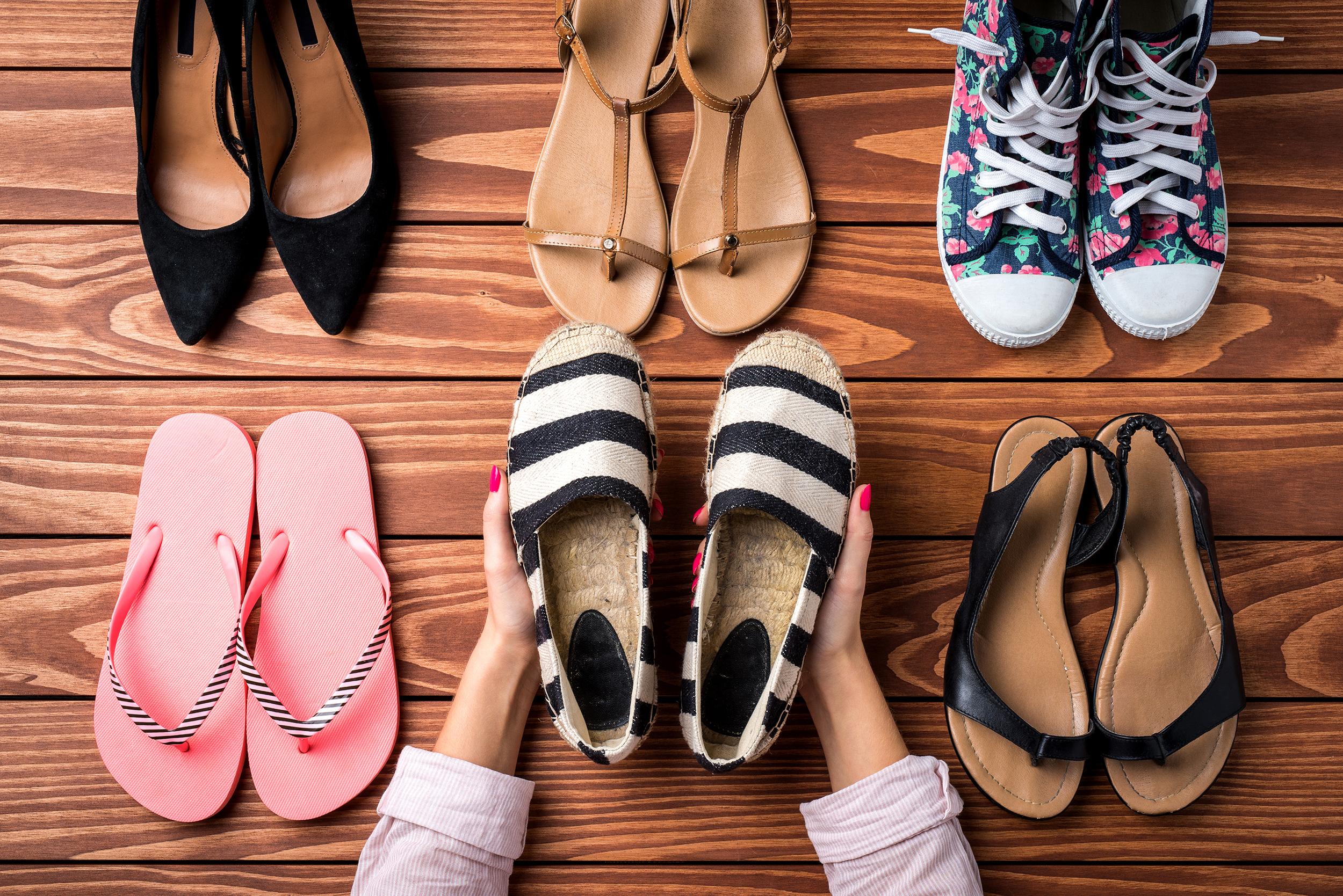 Choosing summer footwear that looks and feels great