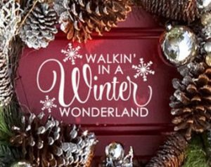 madonna inn winter sign