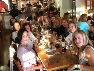 JOANIE SUMNERS BIRTHDAY DINNER AT CICCIO IN NAPA, CA