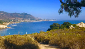 view from pirrates cove, avila beach, ca