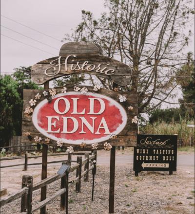 old edna sign