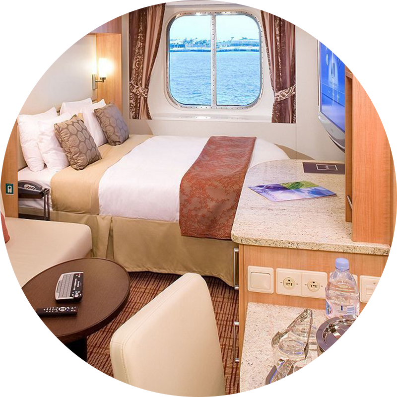 ocean view room for cruise