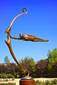 Mega Focus sculpture at sculpterra