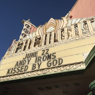 Sign of the Fremont Theatre
