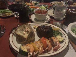 Hitching Post Steak Plate